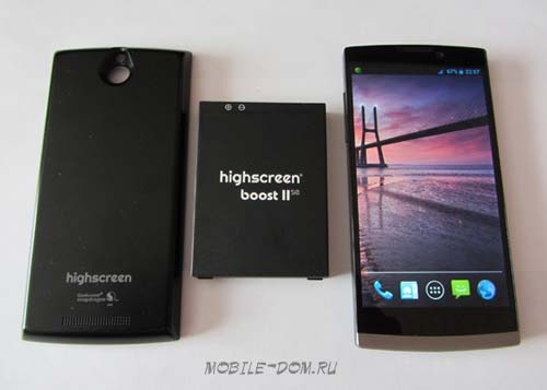 Комплектация Highscreen Boost 2 SE